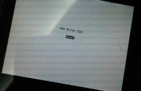 App Error 523 Reset Hatası Çözümü