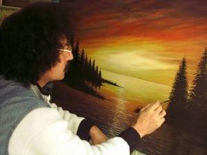 Türk Ressam Bilal Geniş