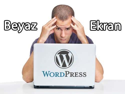 WordPress beyaz sayfa hatası çözümü