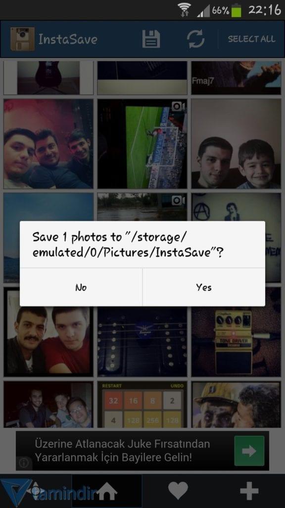 Instagram Fotoğraflarını Telefona İndirmek instasave