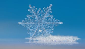 macro-of-a-single-snowflake
