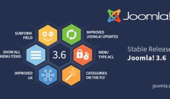 Joomla 3.6 Yayınlandı!