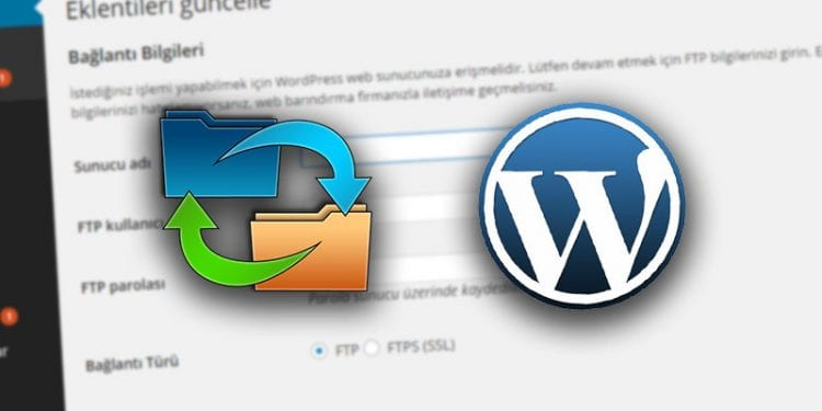 WordPress FTP bilgilerini sormasın istiyorsanız