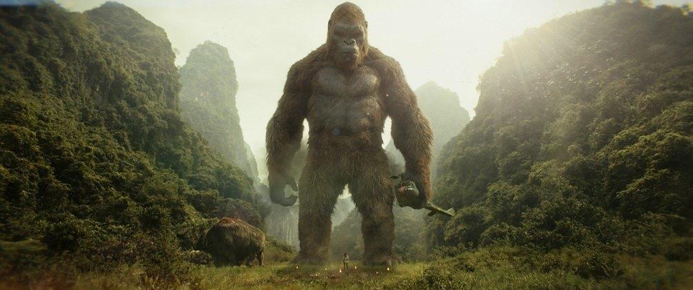 Kong: Kafatası Adası görsel bir şölen.