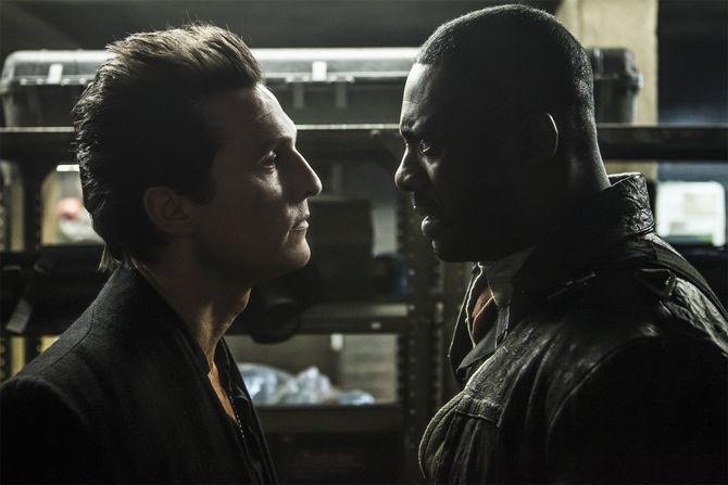 Kara Kule - Dark Tower filminin iki ünlü oyuncusu filmde sık sık karşı karşıya geldiler.