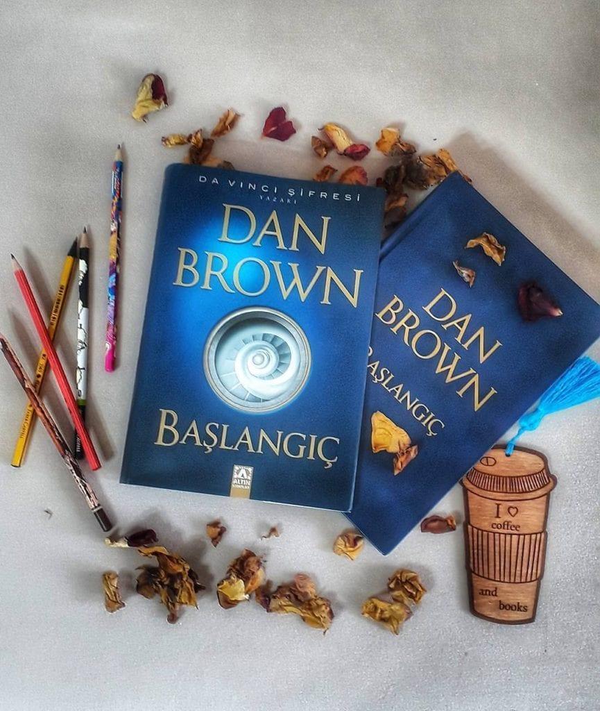 Başlangıç (Origin) romanı hakkında instagramda bulduğum güzel bir fotoğraf.