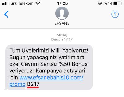 Reklam SMS engelleme - Bu tür mesajlardan bıktık değil mi?