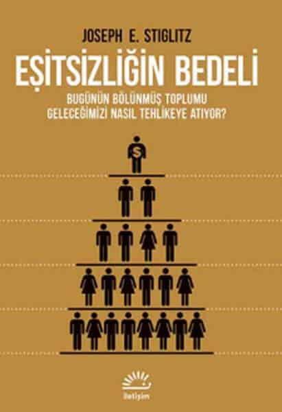 Eşitsizliği Bedeli adlı kitabın ülkemizde yayınlanan baskısına ait ön kapak resmi