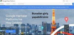 Google Haritalar Platform