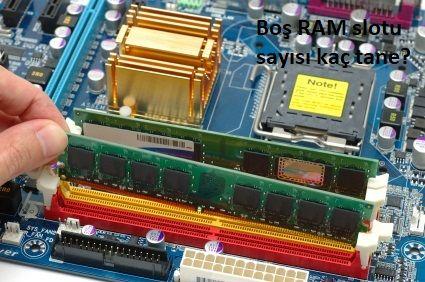 Ram Slot Sayısı