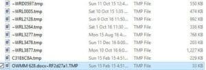 TMP dosyası