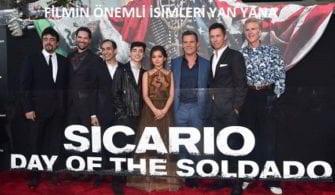 Sİcario: Day of the Soldado oyuncu kadrosu galaya katıldı.