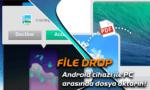 Android telefon ve bilgisayar arasında kablosuz dosya aktarımı