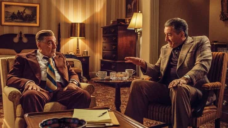 İki ünlü isim bir arada: Al Pacino - Robert De Niro