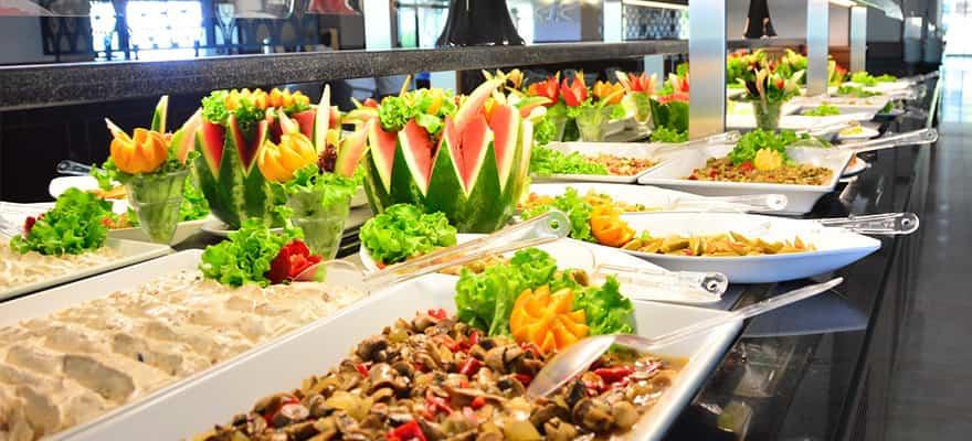 ATGV Antalya tesisinin restoranı mükemmel. Yemek çeşitleri oldukça fazla.