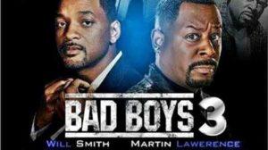 Bad Boys 3 film afişlerinden bir tanesi. Martın çok kilo almış ya hiç bakmamış kendine.