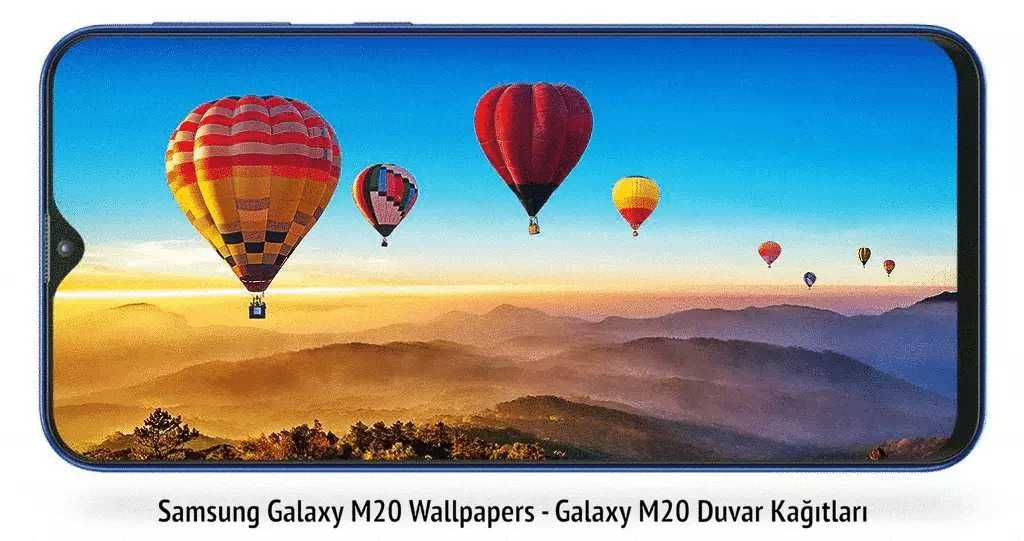 Galaxy M20 Wallpapers