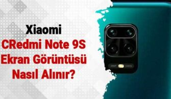 Redmi Note 9S Ekran Görüntüsü Alma