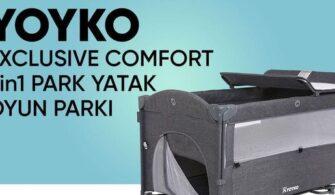 Yoyko Exclusive Comfort 8 in 1 Park Yatak Oyun Parkı