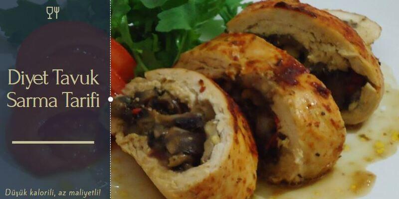 Diyet Tavuk Sarma Tarifi nasıl yapılır?