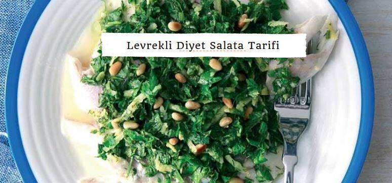 Levrekli Diyet Salata Tarifi Nasıl Yapılır? makalemiz sizlerle...