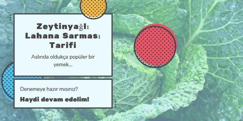 Türk mutfağının en popüler yemeklerinden Zeytinyağlı Lahana Sarması bu yazımızın konusu.