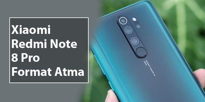 Redmi Note 8 Pro Format